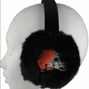 cleveland browns Accessories - NWT Cleveland Browns furry earmuffs